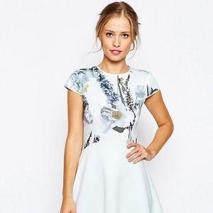 Ted Baker Faythe Floral Print Dress